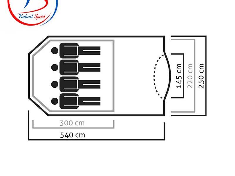 چادر-4-نفری-salewa-مدل-ALPINE-LODGE-IV-2