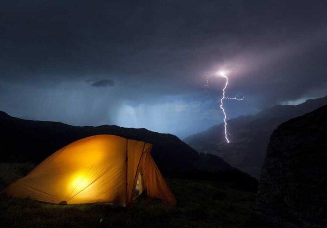 tent-lightning